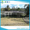 De Draagbare Stootborden die van het aluminium het Draagbare Opvouwbare Stadium van het Platform vouwen