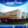 Acoplado ampliamente utilizado del tanque de petróleo del acero de carbón 3-Axle para la venta