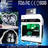 2015 Nouveau modèle machine de gravure laser 3D pour Verre Cristal Ouvrir une boutique
