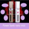 Nano Nebel-Spray-Multifunktionsgesichtsschönheits-Sorgfalt-Einheit bewegliche USB-nachladbare Energien-Bank-Nano handlicher Gesichts-Dampfer