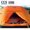 Gl/CCS keurde de Rubber Opblaasbare Mariene Reddingsboot van 15 Mens goed