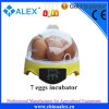 7 huevos Chicken Egg Incubator para Farm