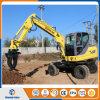 Nuevo excavador de la rueda 4WD con Grapper