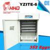 Incubadora do ovo da galinha da taxa do choque de Hhd 98% para a venda (YZITE-6)