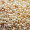 7-8mm Button Round Freshwater Pearl Beads