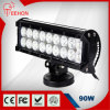 Teehon 9 90W Osram Sxs 18 LED Light Bar para Jeep 4X4 ATV UTV RV 4WD Ute