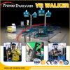 Marcheur professionnel de réalité virtuelle de retour élevé