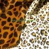 Fabbricato animale 100% di stampa della pelle scamosciata di trama del Faux del poliestere (Hz243)
