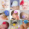 2015 nuovo Style Top Baby Cute Beautiful Christmas Baby Headband con Flower Baby Amour