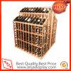 Cremalheira de madeira do frasco de vinho