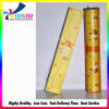 Cadre de empaquetage de tube mince jaune d'impression