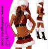 Traje sexy T1016 de Santa do Natal