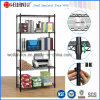 DIY 5 Reihe-Metallbüro-Draht-Bildschirmanzeige-Regal