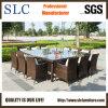 Mobília de vime ao ar livre ajustada/profundamente de assentamento da tabela de vime (SC-A7198)