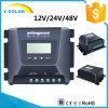 Regulador solar MP-1015D de MPPT-15AMP 12V/24V/48V LCD+Backlight
