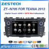 BACCANO Autoradio DVD di Zestech 2 per il giocatore 2013 di GPS dell'automobile dei Nissan Teana