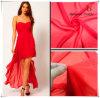 Tissu 100% de mousseline de soie de robe élégante de polyester