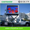 Chipshow P10のLED表示ボードを広告する移動式トラック車