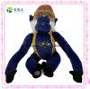 Het grappige Blauwe Lange Gevulde Stuk speelgoed van Wapens Mokey voor Verkoop (xdt-0211)