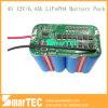 4s 12V LiFePO4 Battery 6400mAh met Smbus Communication Smart BMS