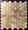 Hexgon хонинговало зацепленную плитку мозаики (EMC118)