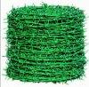 PVC上塗を施してある有刺鉄線の網