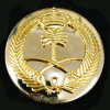 Het militaire Leger van de Politie van het Metaal van de Insignes van het Kenteken van de Baret (CB40301)