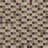 ガラスおよび石のモザイク(VMS8103、300X300mm)