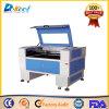 Nichtmetall-Holz, Papier, MDF, Gummi-CO2 Laser-Ausschnitt und Gravierfräsmaschine für Verkauf