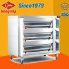 Bäckerei-Gerät, 3-Deck 9-Tray luxuriöser elektrischer Ofen