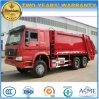 Lo spreco di Sinotruk HOWO raccoglie il camion pesante del costipatore dell'immondizia del camion 20 Cbm-25 Cbm