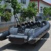 Liya 8.3m Console de direction Bateau gonflable Cabine à côtes