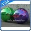 La publicité du ballon gonflable de miroir/de bille reflétée