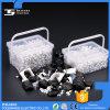 Clips en plastique d'aperçus gratuits pour des câbles