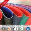 Litchi зерна оптовая продажа фабрики искусственной кожи PU Semi кожаный