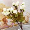 Ramalhete decorativo falsificado barato da flor das flores de Rosa com 21heads