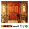 El doble de madera lujoso de la ceniza blanca de la serie de Oppein sale de la puerta principal (YDA020S)