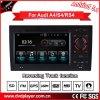 Reproductor de DVD del coche de las conexiones del teléfono del coche DVD GPS Hualingan Hl-8745 del androide 5.1 para Audi A4 S4 GPS