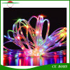 Solar String Lights 33FT 100 LED Copper Wire Rope Starry Ambiance Lighting pour Noël Outdoor Patio Gardens Homes Party Holiday Wedding Decoration