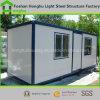 Casa prefabbricata blu/bianca astuta flessibile del contenitore con l'alta qualità