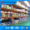 A cremalheira a mais popular e a mais econômica do armazenamento do armazém para a indústria da farmácia