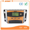 Suoerの太陽電池パネルのパワー系統の料金のコントローラ12V 24V 40Aの太陽コントローラ(ST-C1240)