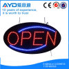 Hidly 타원형 전자 LED 열려있는 표시
