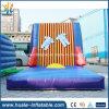 Kundenspezifische aufblasbare haftende Wand, Flausch-Wand aufblasbar für Erwachsene und Kinder