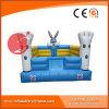 Huis van de Sprong van de Uitsmijter van het Thema van het konijn het Opblaasbare voor Pretpark (t1-302)