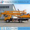 Guindaste montado caminhão de 4 toneladas com cesta da operação