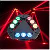 Luz principal móvil de la araña del LED con DMX512