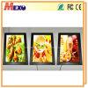 스냅 열려있는 포스터 프레임 LED 메뉴 널을 광고하는 대중음식점