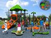 Детей пущи Kaiqi установленная спортивная площадка среднего размера опирающийся на определённую тему напольная (KQ50039D)