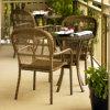 고리 버들 세공 정원 옥외 가구 안뜰 등나무 의자 세트